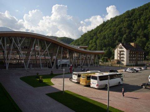Железнодорожный вокзал Роза Хутор