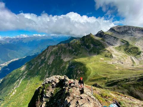 Легкий альпинизм для всех в горах