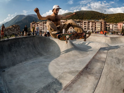 Бесплатный скейт парк