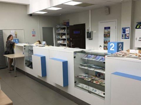 Внутри почтового отделения 354392