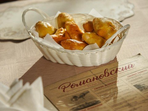 Блюдо ресторана Романовский, Эсто-Садок, Красная Поляна, Сочи