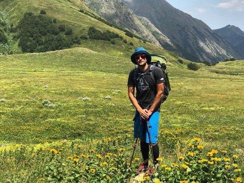 Саша Ильин гид в горы