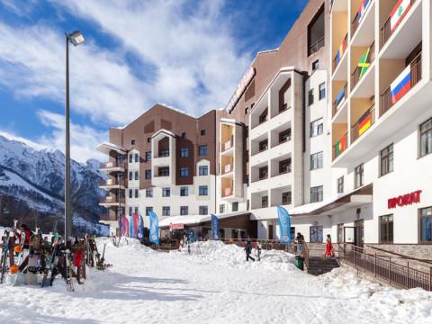 Отель Rosa Ski Inn Deluxe Hotel 4*