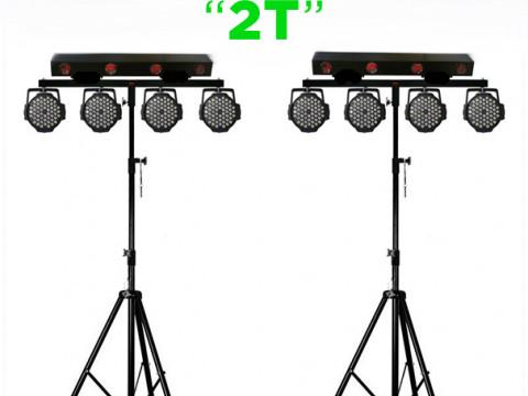 Простой но эффектный комплект света для танцпола